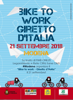 BIKE TO WORK 2018/ RISULTATI