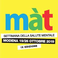 Màt 2019 - Settimana della Salute Mentale