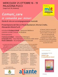 In occasione di questa 7^ edizione di Màt - Settimana della Salute Mentale, Aliante propone due iniziative, una organizzata dal settore minori e giovani, e l'altra dal settore psichiatria.