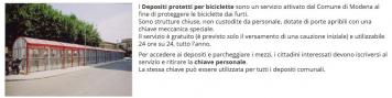 Nuovi depositi protetti per le biciclette!